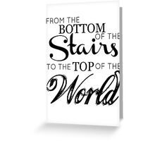 The boys from the stairs Greeting Card