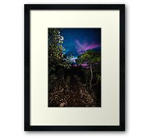 Beware of mountain lions :) Framed Print