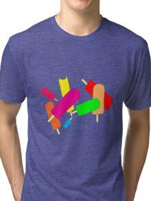 Ice Blocks Tri-blend T-Shirt