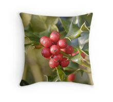 Holly Berrys Throw Pillow