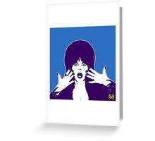 Elvira ( Shocking ) Greeting Card