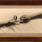 Reaching Out 1990 by Cathie Brooker