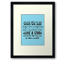 We Are Who We Are - Little Mix Framed Print