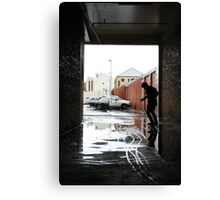 Wet Wednesday Canvas Print