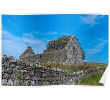 Derelict Church, Dunvegan, Skye, Scotland Poster