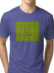 Manchester City clinch title in injury time. Tri-blend T-Shirt