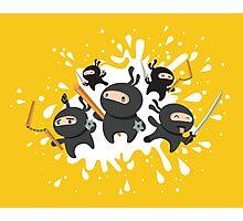 Ninja Squad Photographic Print