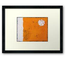 Orange Dream Framed Print
