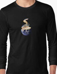 The Orange Planet Long Sleeve T-Shirt