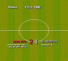 Sensible Scorelines - Manchester United 2 Bayern Munich 1 in 1999 by twelfthman