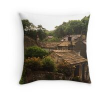 The Peak District Throw Pillow