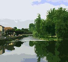 Dordogne region by William Mason