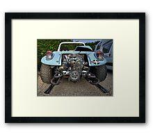 Back o the Bug  Framed Print
