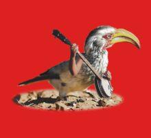 Grumpy Banjo Bird One Piece - Short Sleeve
