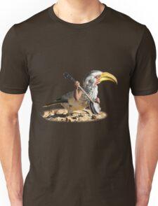 Grumpy Banjo Bird Unisex T-Shirt