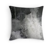 boiling water Throw Pillow