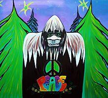 Bigfoot Peace by Laura Barbosa