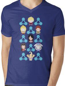 Chain Attack Mens V-Neck T-Shirt