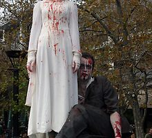 Zombie Bridal Party by Cathie Tranent