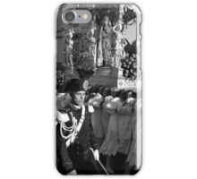 Easter Procession in Enna, Sicily during the Holy Week. iPhone Case/Skin