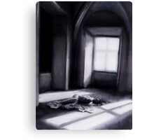 Colourblind; charcoal and chalk + Being wrong Canvas Print