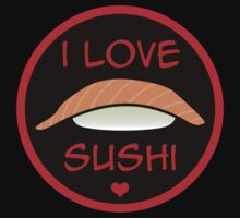 I LOVE SUSHI by frozenfa