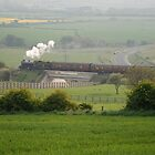 Steam rain to Boulby by dougie1
