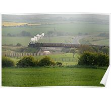 Steam rain to Boulby Poster