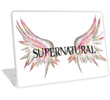 Supernatural Wings Laptop Skin