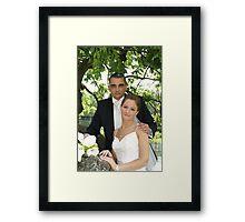 Me & my Bride 3 Framed Print