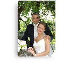 Me & my Bride 3 Canvas Print