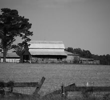 The Barn Across The Field by madman4