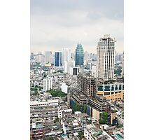 Downtown Bangkok Photographic Print