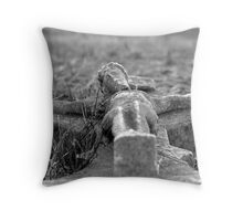 i lay thee down to rest Throw Pillow