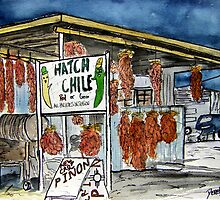 Hatch Chili New Mexico by derekmccrea