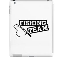 Fishing team iPad Case/Skin