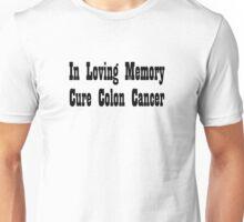 Colon Cancer Unisex T-Shirt