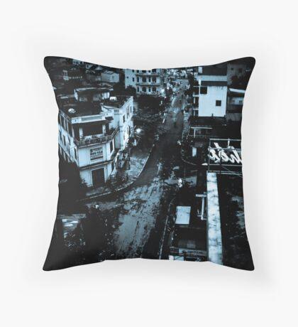 Down town Throw Pillow