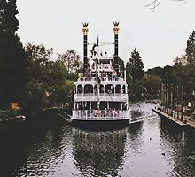 Mark Twain Riverboat  by whitneymicaela