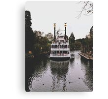 Mark Twain Riverboat  Canvas Print
