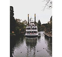 Mark Twain Riverboat  Photographic Print