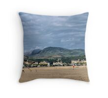 Barmouth Hills Throw Pillow