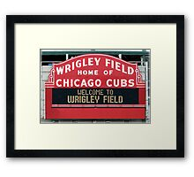 Cubbies Forever Framed Print