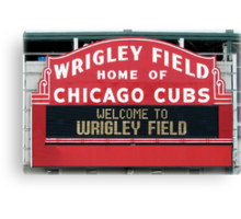 Cubbies Forever Canvas Print