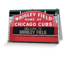 Cubbies Forever Greeting Card