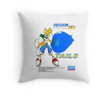 Freedom Fighter 2K3 Tails Throw Pillow