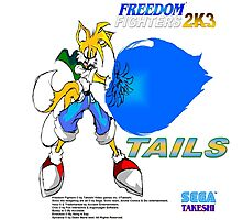 Freedom Fighter 2K3 Tails Photographic Print