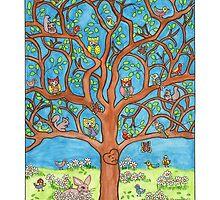 The Happy Tree by Sharon Hall