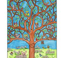 The Happy Tree by Sharon Hall