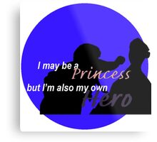 Frozen Disney Princess/Hero  Metal Print